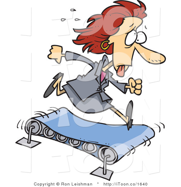 cartoon-tired-and-sweaty-business-woman-running-on-a-treadmill-by-ron-leishman-1640