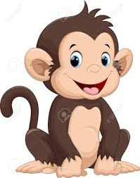 Cute Monkey Cartoon Royalty Free Cliparts, Vectors, And Stock ...